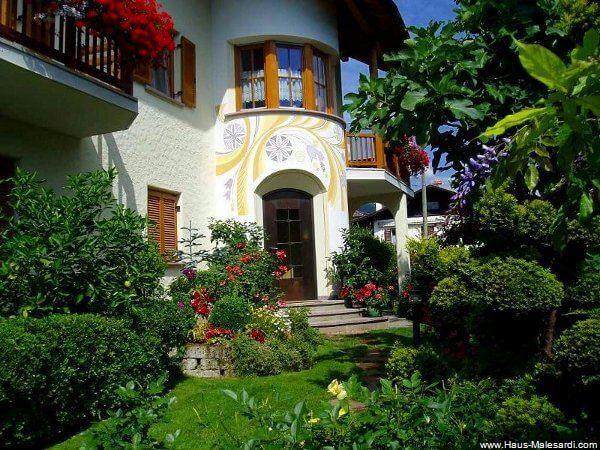 Garten Giardino 1 Haus Malesardi Andrian