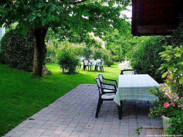 Garten Giardino 3 Haus Malesardi Andrian